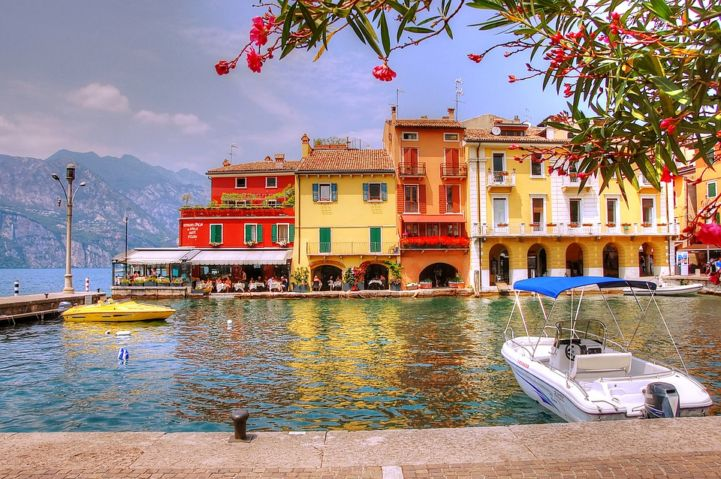 Malcesine, Italië