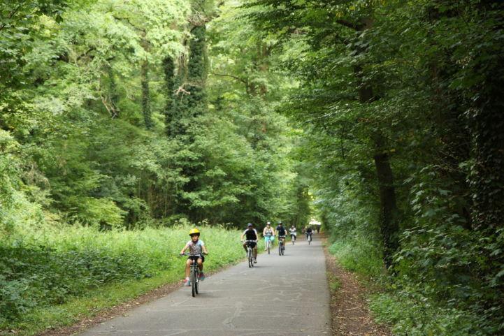 Parc forestier de la Poudrerie, France on EuroVelo 3 ©Droits réservés
