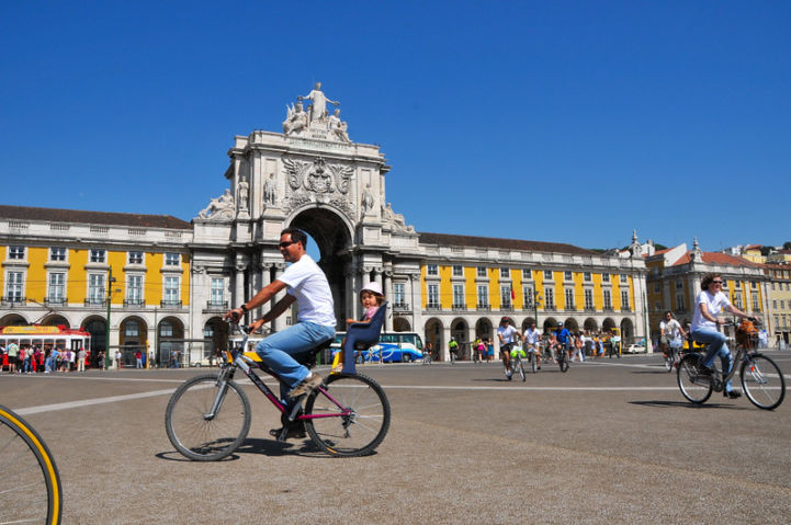 Praça do Comércio ©GIRA Bike Tour, Hugo Alexandre Cruz photography