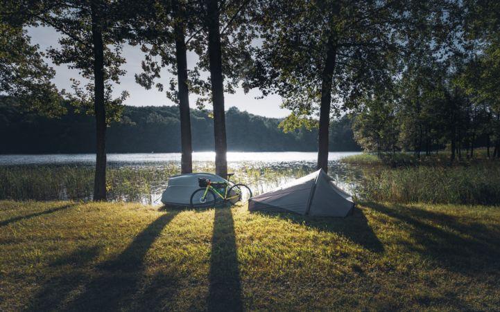 Cycling friendly campsite ©Marek Piwnicki