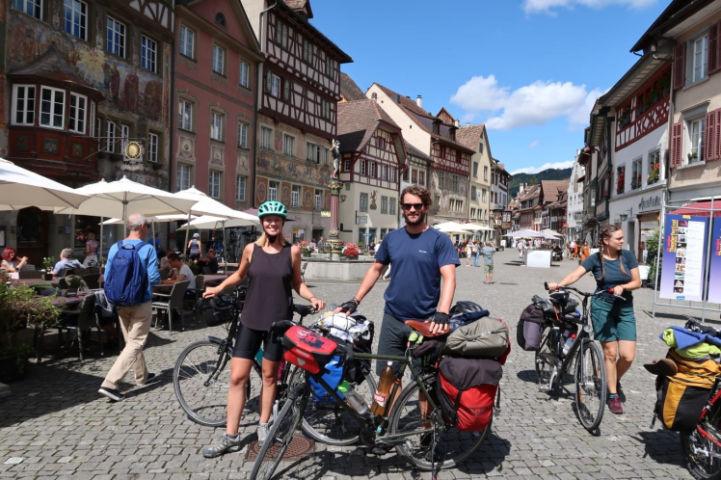 EuroVelo 6, Stein am Rhein, Switzerland © Mat and Harriet Hall