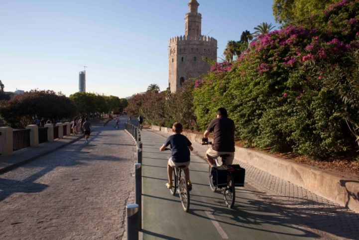 New cycle way as part of Andalusia Cycling Plan 2