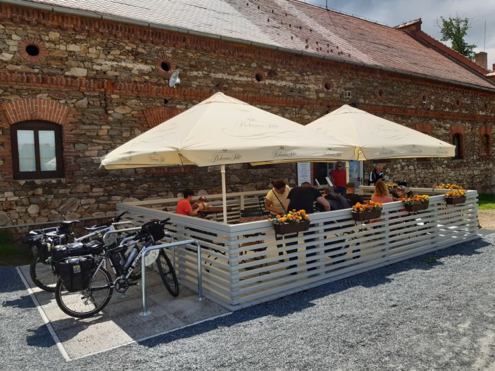 Cycling-friendly restaurant in Central Europe